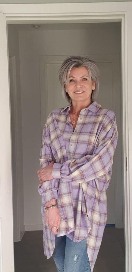Lilla ternet skjorte, Marta Du Chateau