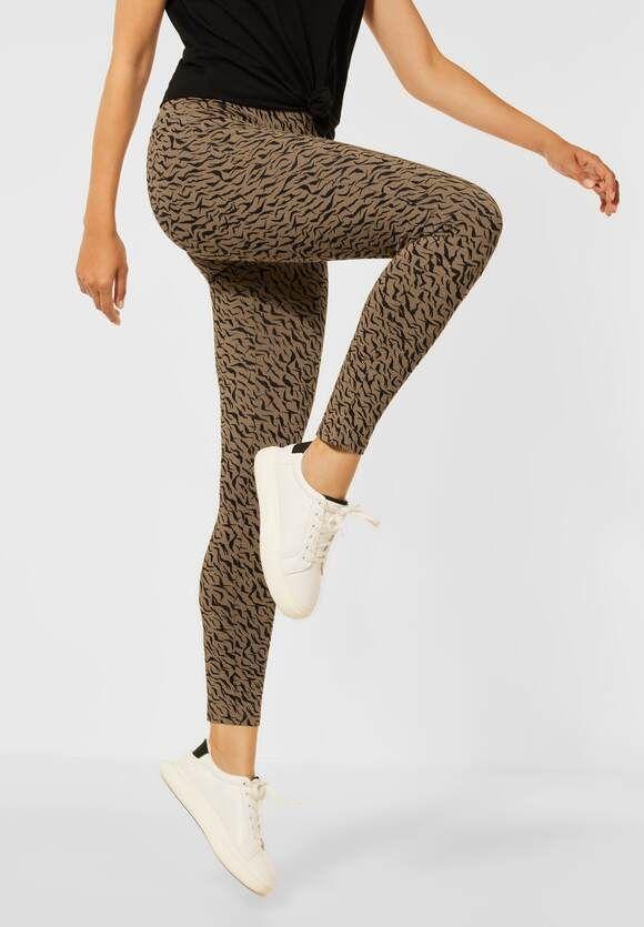 Leggings, Tiger print, Street one 374392
