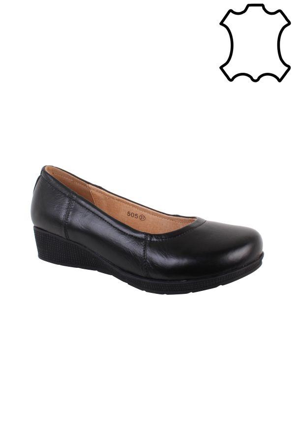 Balarina sko, sort