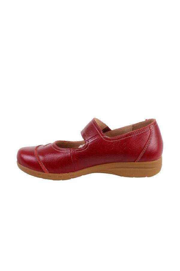 Isabella sko, rød
